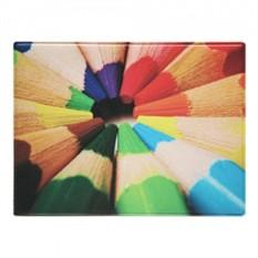 Обложка на студенческий Цветные карандаши