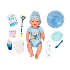 Кукла Интерактивный мальчик Baby Born