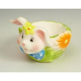 Подставка под яйцо кролик