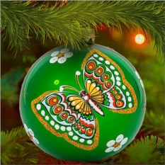 Елочная игрушка «Бабочка»