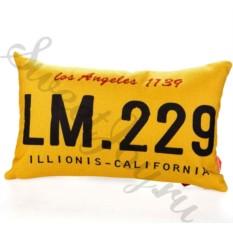 Декоративная подушка Car Number – Los Angeles