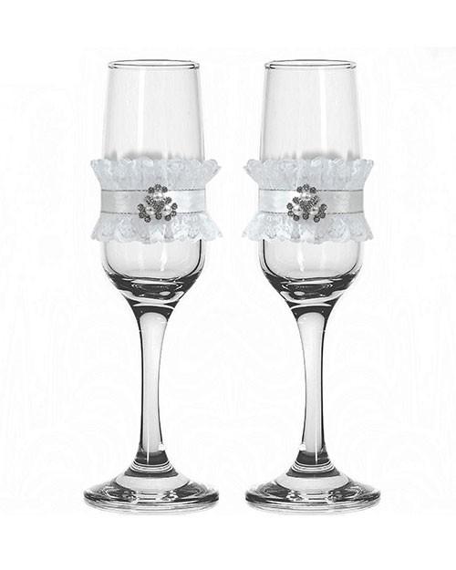 Набор свадебных бокалов №42