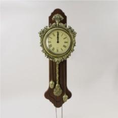 Настенные часы Букет с маятником и гирями