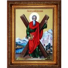 Икона на холсте Андрей Первозванный Святой Апостол