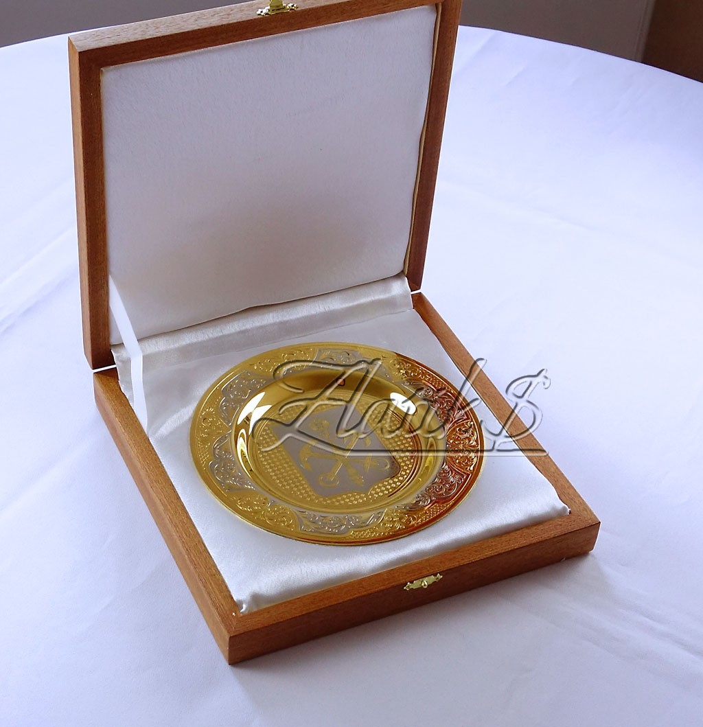 Сувенирная тарелка Санкт-Петербург