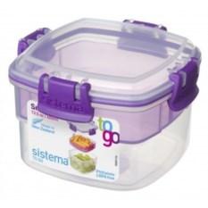Фиолетовый двухуровневый контейнер Tо-Go