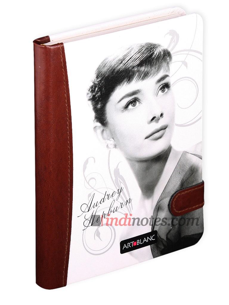 Дизайнерская записная книжка Art Blanc Audrey (в клетку), A5