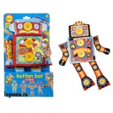 Развивающая игрушка Робот Пуговка от ALEX