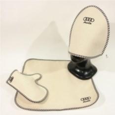 Комплект для бани с логотипом Audi