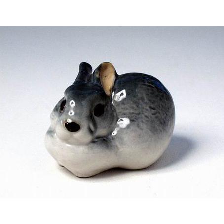 Анималистическая скульптура «Серый кролик»