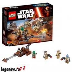 Конструктор Lego Star Wars Боевой набор Повстанцев