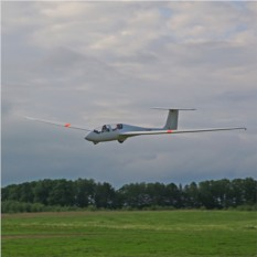 20 минут полета на планере Twin Astir