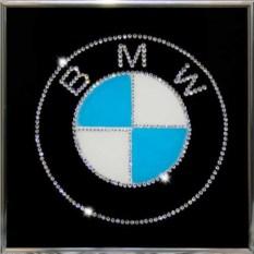 Картина с кристаллами Swarovski BMW