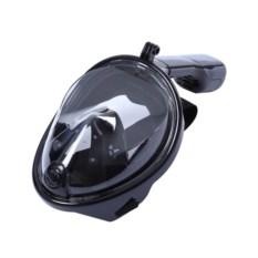 Черная маска для снорклинга EasyBreath