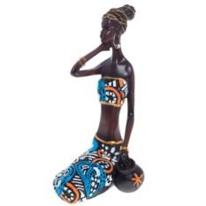 Декоративная статуэтка Африканка, 21,2 см