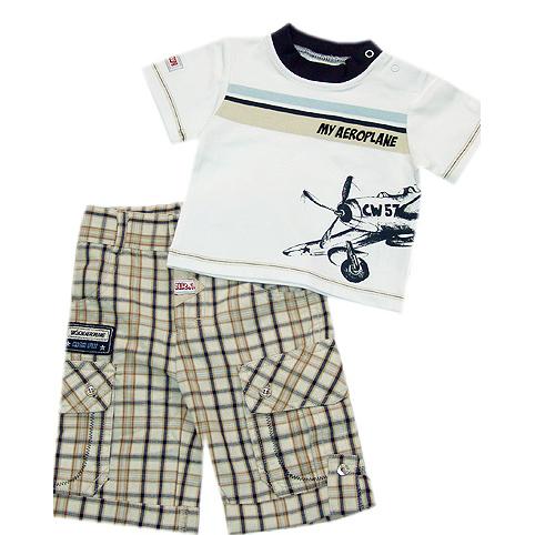 Комплект: брюки, футболка Wojcik 68-98 см