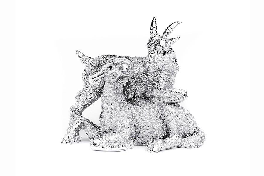 Статуэтка Козочка и овечка Гамма