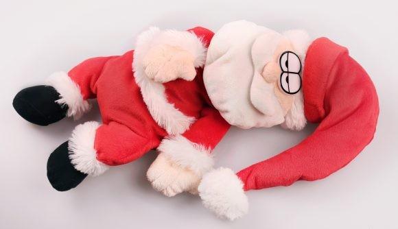 Санта-весельчак