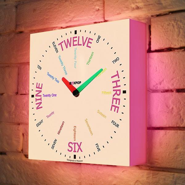 Часы-ночник для девочки