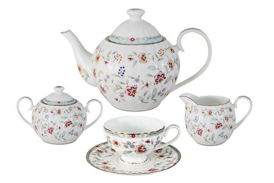 Чайный сервиз Грейс из 15 предметов на 6 персон