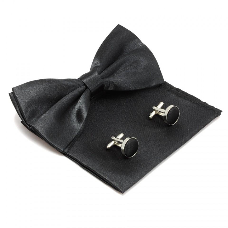 Набор аксессуаров для мужчин #007 (черный)