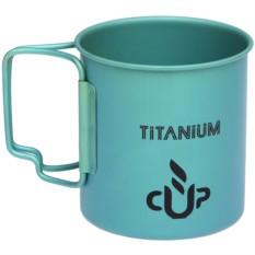 Кружка из титана со складными ручками Titanium
