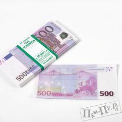 Сувенирные деньги «500 евро»
