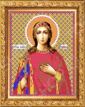 Набор для вышивания бисером «Святая Великомученица Ирина»