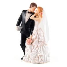 Декоративная свадебная фигурка Молодожены