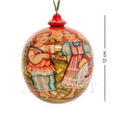 Елочный шар Лето (художественная роспись)