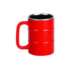 Красная кружка «Баррель»