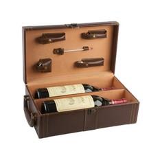 Набор аксессуаров для вина в кейсе для 2 бутылок