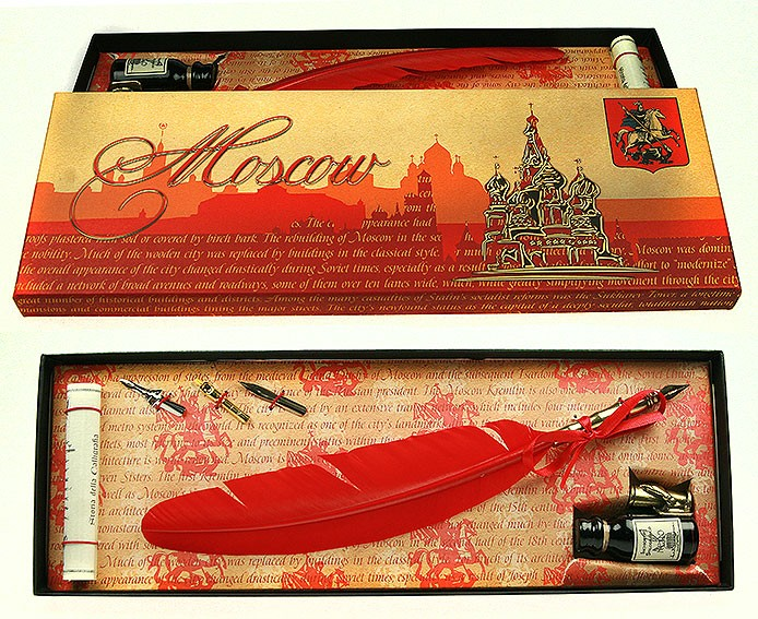 Подарочный набор для письма Москва