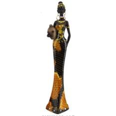 Декоративная статуэтка Африканка, 35 см