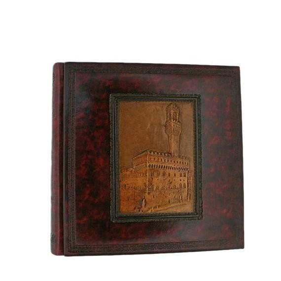 Кожаный фотоальбом 33x33 Florentia
