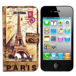 Чехол для iPhone 4/4S Paris из серии Old Diaries