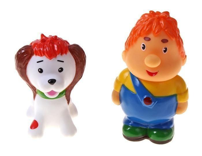"""Игрушки для купания из мультфильма """"Малыш и Карлсон"""""""