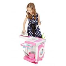Десткий набор Carmen №6 со стиральной машинкой и утюжком
