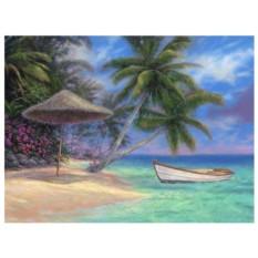 Картина-раскраска по номерам на холсте Дрейф