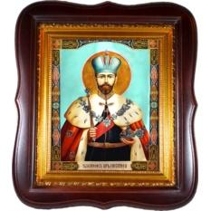 Николай II Святой Благочестивый царь-мученик. Икона