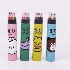 Набор цветных карандашей Животные