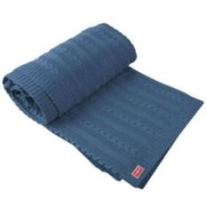 Синий плед Comfort