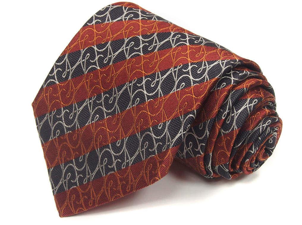 Мужской галстук в полоску Christian Lacroix