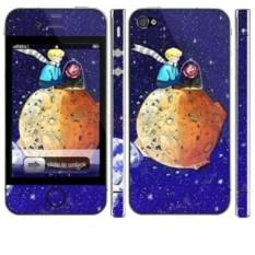 Наклейка на iphone 4/4S Маленький принц