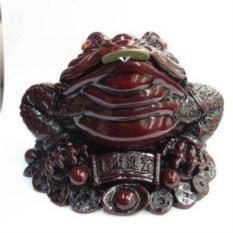 Декоративная фигурка Жаба с монеткой