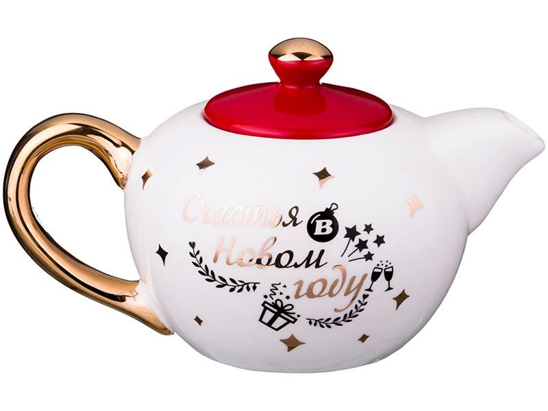 Заварочный чайник на 600 мл Счастья в новом году