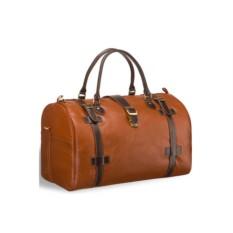 Дорожная коричнево-рыжая сумка Brialdi Nebraska