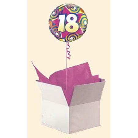 Шар в коробке «18 лет»