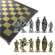 Металлический шахматный набор Крестоносцы