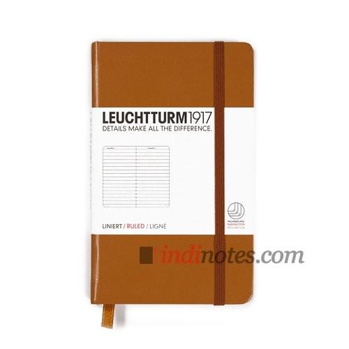Записная книжка Pocket Notebook Caramel от Leuchtturm1917